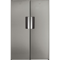 Whirlpool freestanding fridge freezer: inox color - SW8 AM2C XARL UK/UW8 F2C XLSB UK