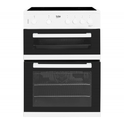Beko KDC611W Freestanding Electric Double Oven