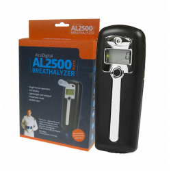 AlcoDigital AL2500 Digital Breathalyser Black