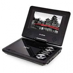 "Akai 7"" Portable DVD Player with SD card Slot"
