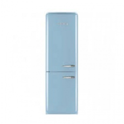Nordmende Freestanding Retro Fridge Freezer | RETNF368BLUEA+