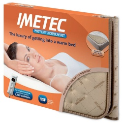 Imetec 16026 Single Bed Premium Heated Quilted Underblanket