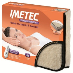 Imetec 16028 Double Express Electric Underblanket