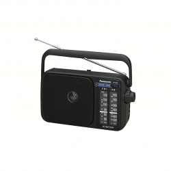 Panasonic RF-2400DEB-K Portable FM/AM Radio With Digital Tuner