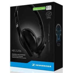 Sennheiser HD 2.20s Headphones On Ear with mic