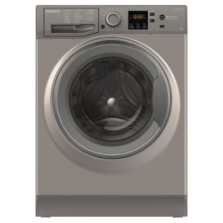 Hotpoint NSWM843CGG 8KG 1400 Spin Freestanding Washing Machine - Graphite
