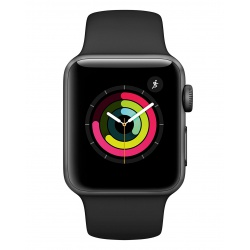 Apple Watch MTF02B/A Series 3 38mm Aluminium Case with Sports Band - Space Grey
