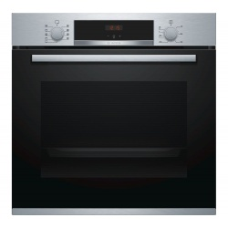 Bosch HBS534BS0B Serie 4 Built-In Multifunction Electric Single Oven - Stainless Steel