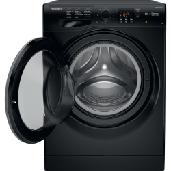 Hotpoint NSWM843CBS 8KG 1400RPM Washing Machine Black