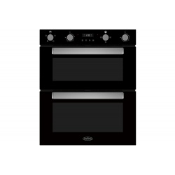 Belling BI703FPBLK Built-Under Electric Double Oven - Black