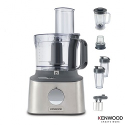 Kenwood FDM312SS Multipro Compact + Food Processor Brushed Stainless Steel