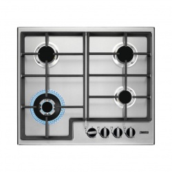 "Zanussi ZGNN645K Series 40 Stainless Steel 60cm Built-in ""Natural Gas"" Hob"