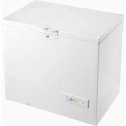 Indesit OS1A250H2 101cm Wide 251L Chest Freezer White