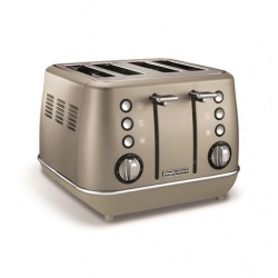 MORPHY RICHARDS EVOKE PLATINUM SPECIAL EDITION 4 SLICE TOASTER 240103