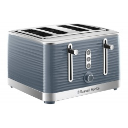 Russell Hobbs Inspire 4 Slice Toaster 24383 Grey