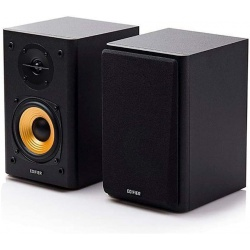 Edifier R1000T4 Active 2.0 Powered Bookshelf Speaker System - 24W  - Black