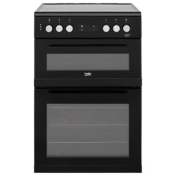 Beko KDC653K 60cm Electric Cooker with Ceramic Hob
