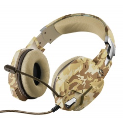 GXT 322D Carus Gaming Headset desert camo